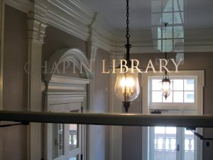 Chapin Library entrance